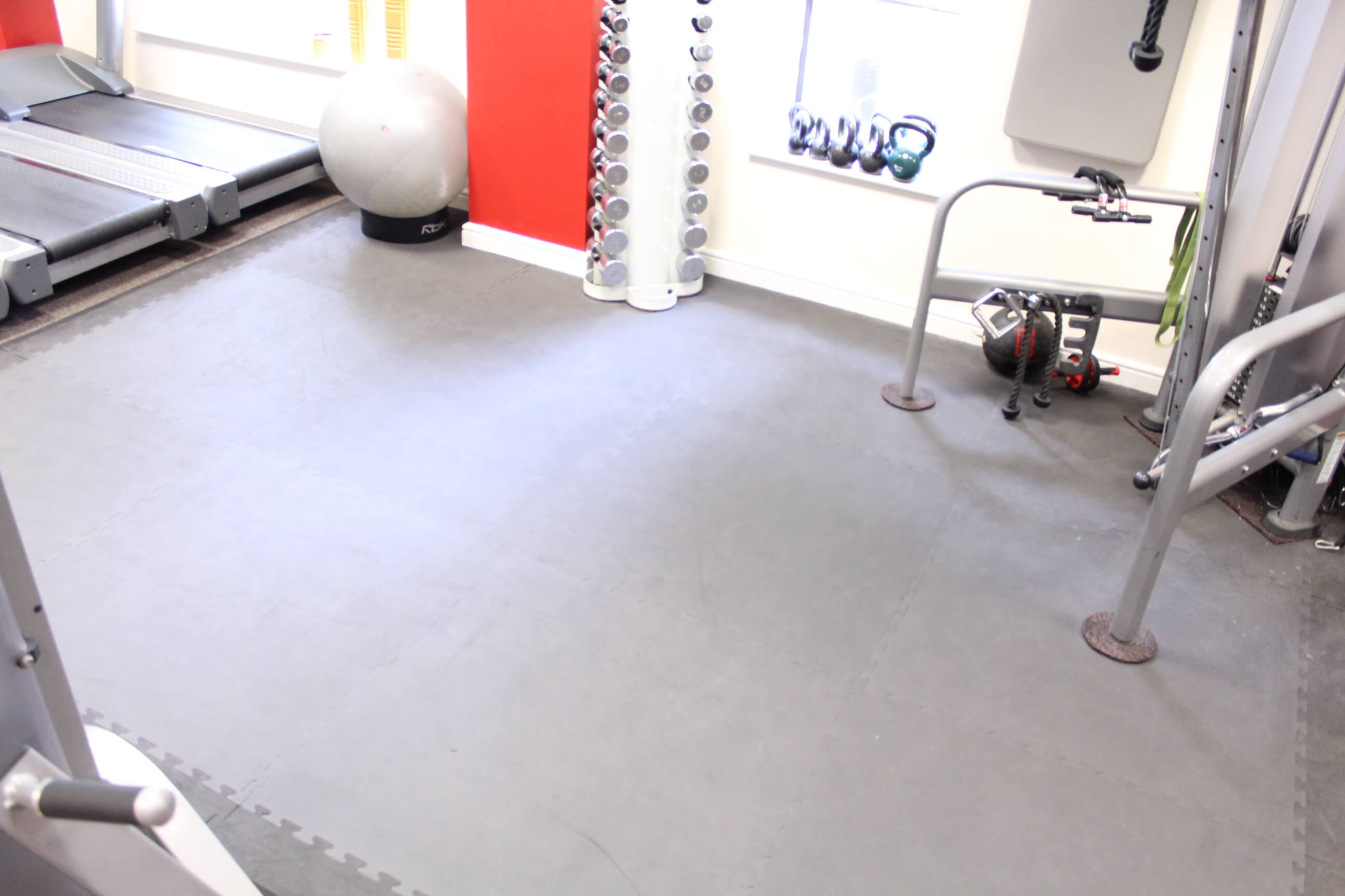 Picture of core functional training area